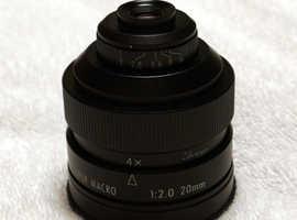 Sony Alpha 20mm F2 Macro Lens