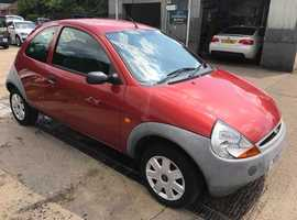 Ford Ka, 2007 (57) Red Hatchback, Manual Petrol, 55,000 miles, Full MOT Supplied
