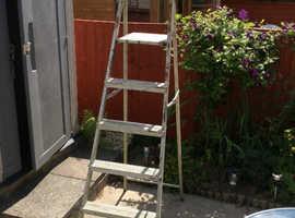 Free step ladder