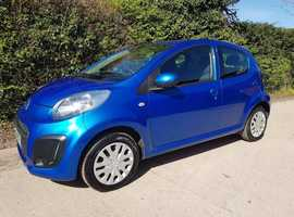 Citroen C1, 2013 (13) Blue Hatchback, Manual Petrol, 34,000 miles