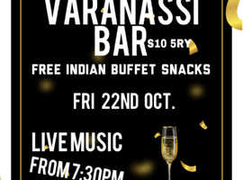 Crosspool Varanasi Bar free live music & champagne