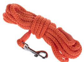 Heim 20 Metre Long Dog Training Lead - Orange