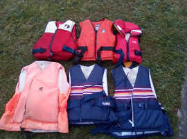Buoyancy aid selection