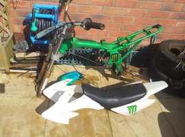 50cc pit bike frame