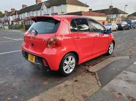 Toyota , 2008 (08) Red Hatchback, Manual Petrol, 69,000 miles