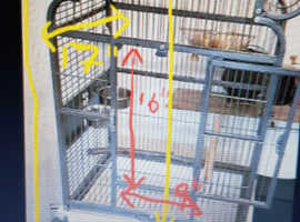 Parrot cage As new