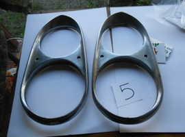 Headlamp rims for Ferrari 330 Gt 2+2 s1