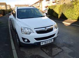 Vauxhall Antara, 2013 (62) White Hatchback, Automatic Diesel, 79,000 miles