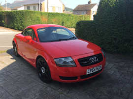 Audi TT, 2004 (54) Red Coupe, Manual Petrol, 99000 miles