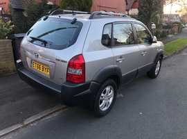 Hyundai Tucson, 2007 (56) Silver Estate, Manual Petrol, 79,000 miles