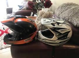 Scrambler bike helmets