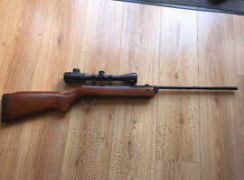 BSA meteor 177 spring powered rifle