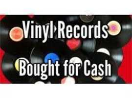 WANTED ~ VINYL RECORDS