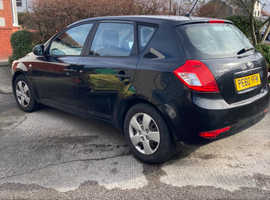 Kia Ceed, 2011 (60) Low Milage Black Hatchback, Automatic Petrol, 32,532 miles