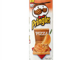 Pringles Pizza Flavour Potato Chips 158g (5.5oz) (Pack of 6)