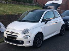 Fiat 500 Sport, 2017 (17) White Hatchback, Manual Petrol, 27,000 miles