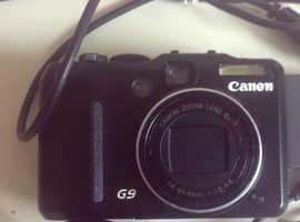 Canon PowerShot G9 12.1MP Digital Camera - Black.
