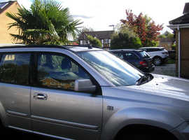 Nissan X-TRAIL, 2004 (54) Silver Estate, Manual Diesel, 210,233 miles