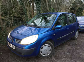 Renault Megane, 2004 (04) Blue MPV, Manual Petrol, 74,000 miles