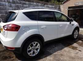 Ford Kuga, 2011 (11) White Estate, Manual Diesel, 66,239 miles