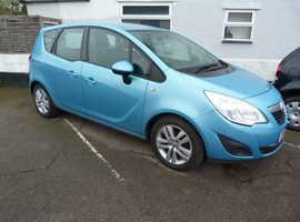 Vauxhall Meriva, 2010 (10) Blue MPV, Manual Petrol, 14,060 miles