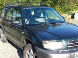Subaru Forester, 2002 (52)  Estate, Manual Petrol, 119,000 miles