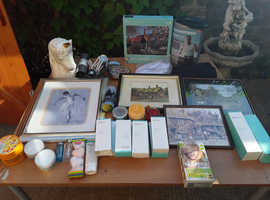 Mixed items ideal for boot sale