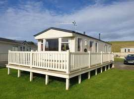 Static Caravan For Sale With Decking & Monthly Payment Options
