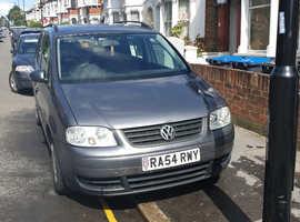 Volkswagen Touran, 2004 (54) Grey MPV, Manual Diesel, 111,580 miles