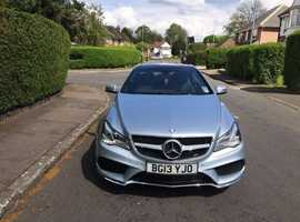 Mercedes E-CLASS, 2013 (62) silver coupe, Automatic Diesel, 9736 miles