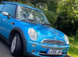 Mini MINI, 2005 (05) Blue Hatchback, Manual Petrol, 105,837 miles