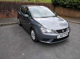 Seat Ibiza, 2016 (66) Grey Hatchback, Manual Petrol, 25,000 miles