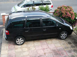 Ford Galaxy, 2005 (55) Black MPV, Manual Diesel, 7 seater.
