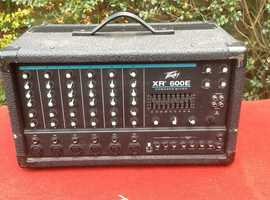 Peavey  6 channel mixer amplifier
