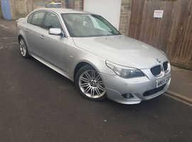 BMW 535, 2006 (55) Grey Saloon, Automatic Diesel, 167,135 miles