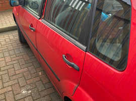 Ford Fiesta, 2003 (03) Red Hatchback, Manual Petrol, 132,000 miles