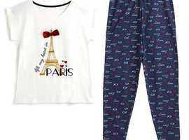 Dream of romantic Paris in these gorgeous pyjamas