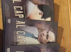 Al Capone (x4) dvds
