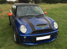 Mini Cooper S, 2004 (04) Blue Hatchback, Manual Petrol, 116,000 miles