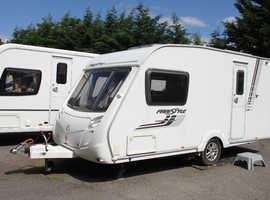 Swift Freestyle 460 2010 2 Berth Caravan + Motor Movers