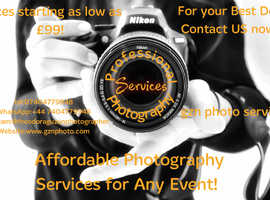 Professional Photographer and Photo Services