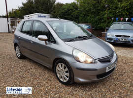 2007 Honda Jazz SE 1.4 Litre 5 Door Hatch, Full Service History, New MOT, Only 2 Previous Owners.