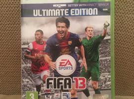 Fifa 13 Xbox game