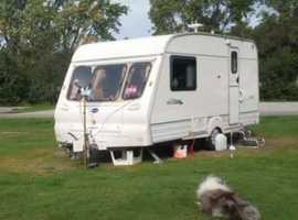 Bailey Ranger 2 berth caravan 2001