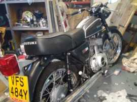 Lovely Suzuki SB200 2 stroke twin
