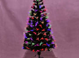 COSTWAY 5ft Fibre Optic Christmas Tree with Top Star (CM20562)