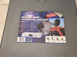 Portable Satellite TV System (suitcase) - ideal for caravan, boat, etc.