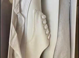 Men's white summer beach shoes