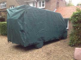 Custom made cover for Elddis 125 Motorhome