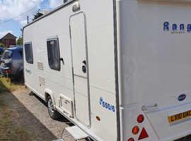 Bailey 550/6 caravan